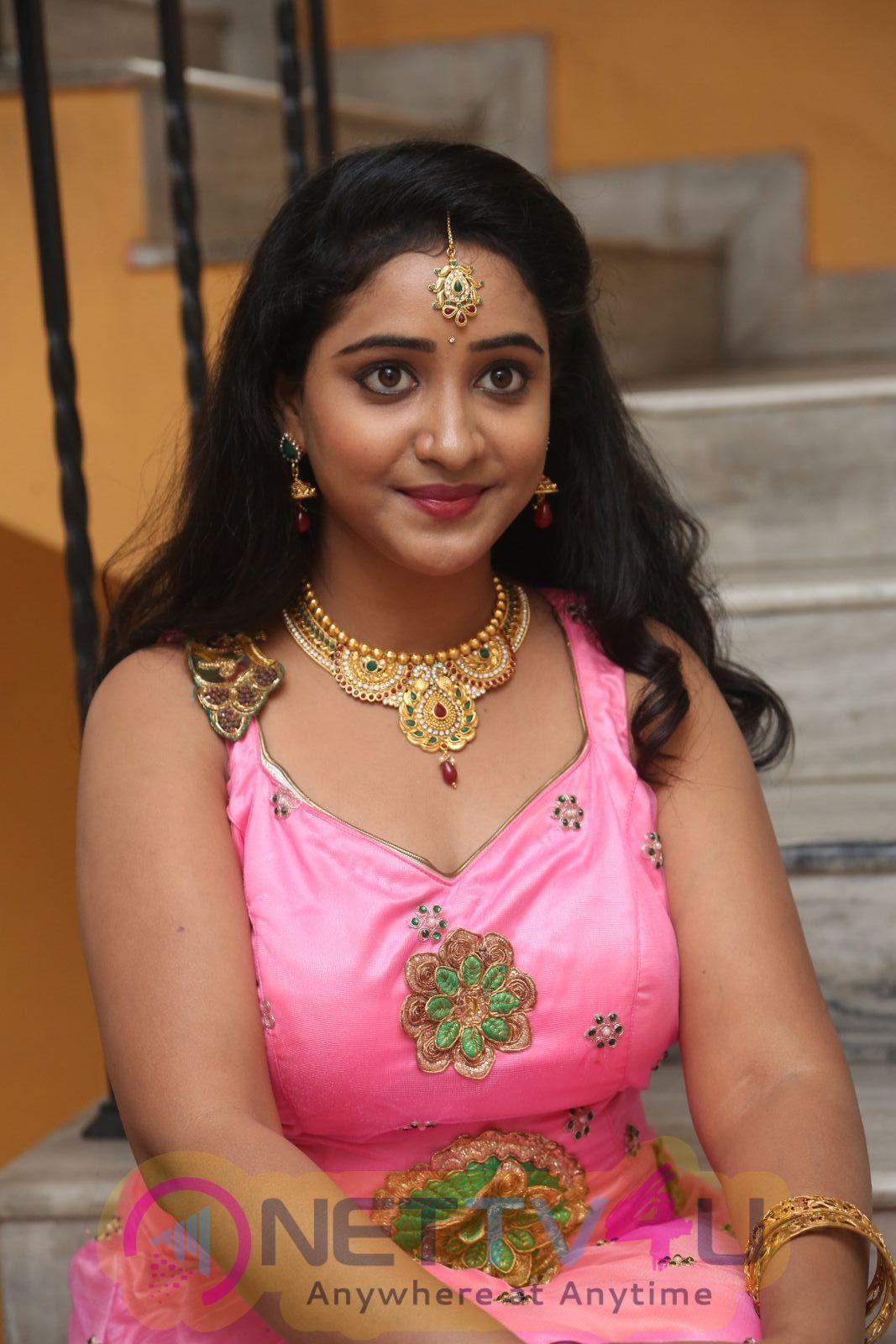 Aishwarya Addala Cute Looking Stills At Nethra Movie Audio Launch Telugu Gallery
