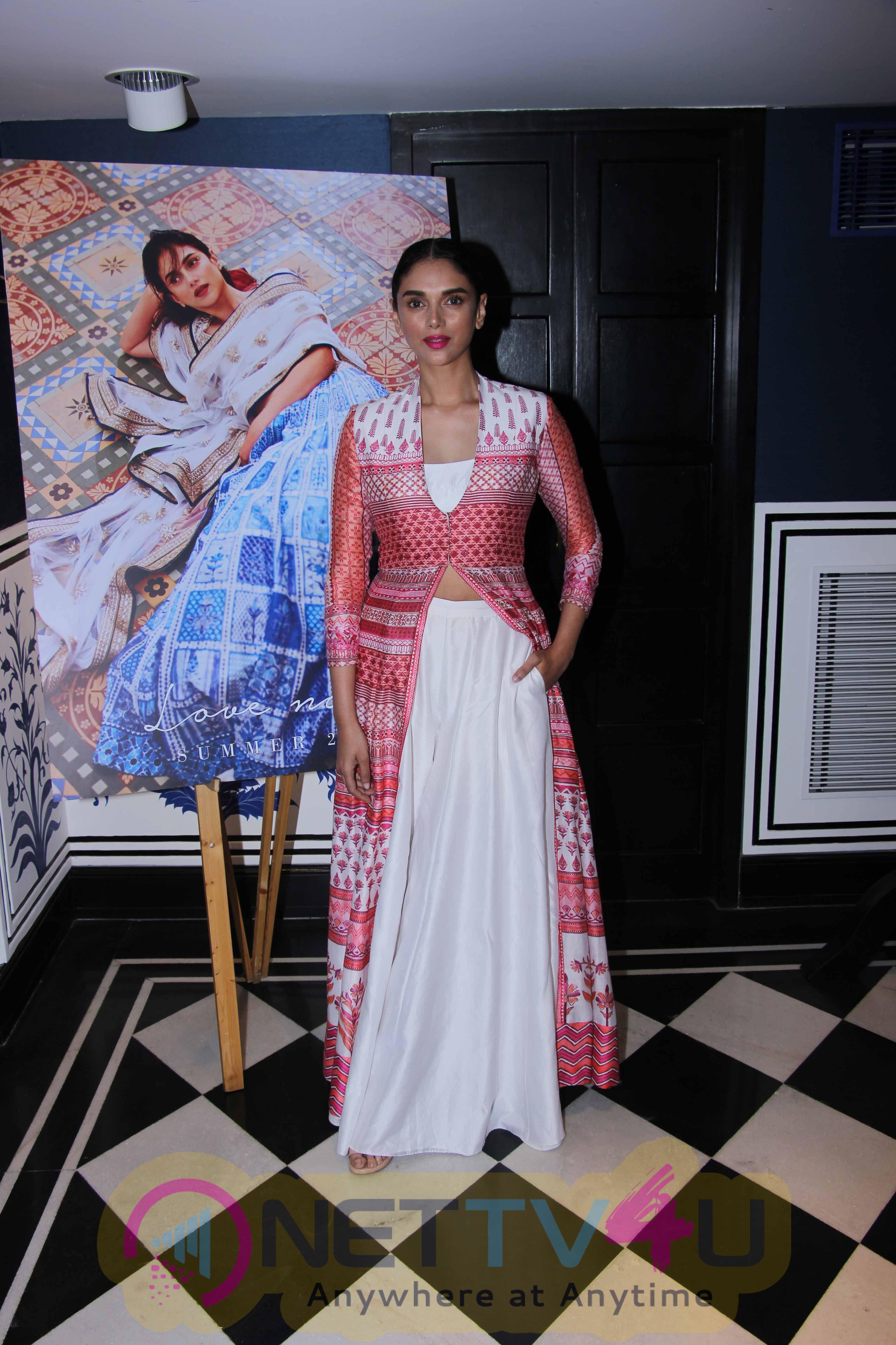 Aditi Rao Hydari Launches Anita Dongre's New Campaign Love Notes Stills Hindi Gallery