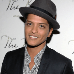 Bruno Mars English Actor