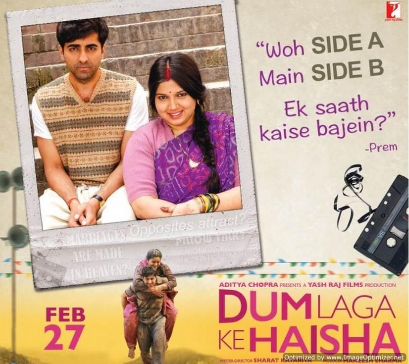 Dum Laga Ke Haisha Movie Review