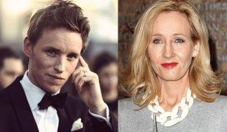Eddie Redmayne's Meeting With Rowling!