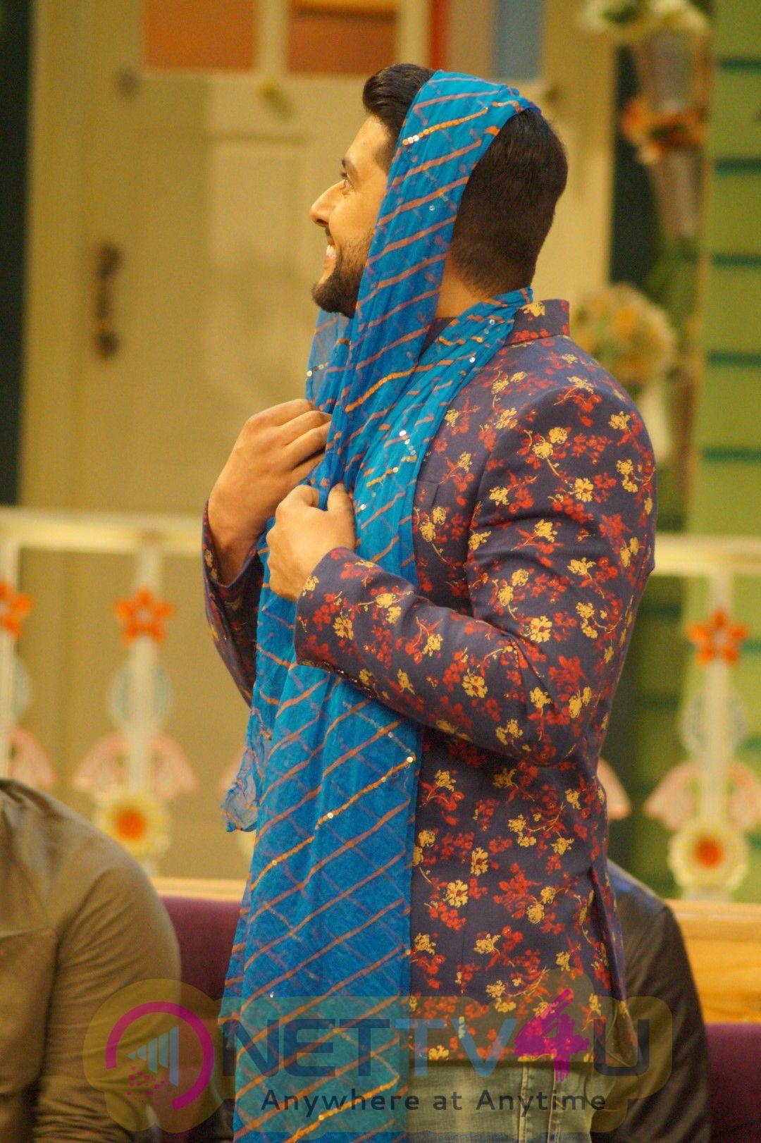 Great Grand Masti Team Visit The Kapil Sharma Show Fascinating Photos Hindi Gallery
