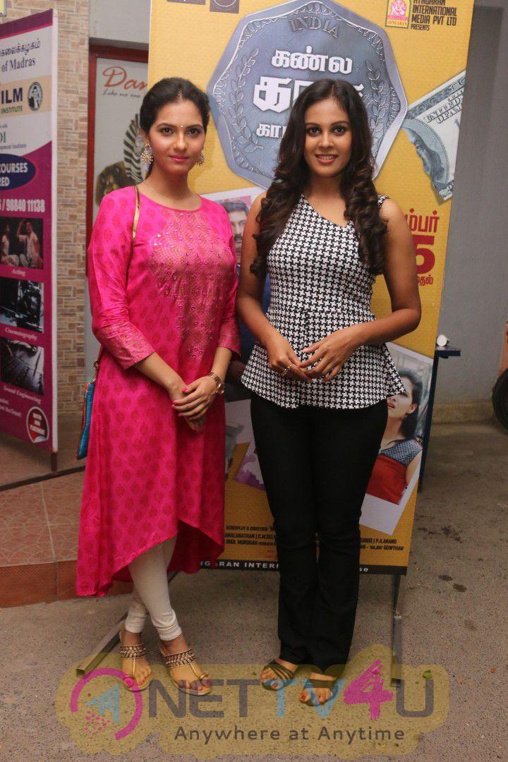 Kanla Kaasa Kaattappa Movie Press Meet Stills Tamil Gallery