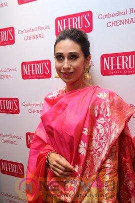 Karishma Kapoor Launches Neerus In Chennai Exclusive Photos