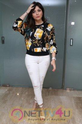 Latest Photos Of Actress Kanika Kapoor At Sree Mayuri ...