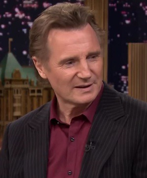 Liam Neeson English Actor