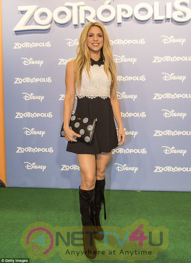 Photos Of Shakira And Zootopia Cast On A Grand Promtional Spree Across Europe English Gallery