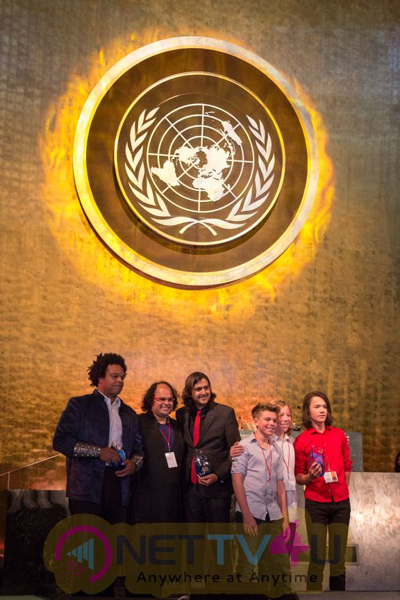 Ricky Kej Live At The United Nations General Assembly Attractive Stills English Gallery
