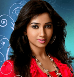 Shreya Ghoshal Hindi Actress