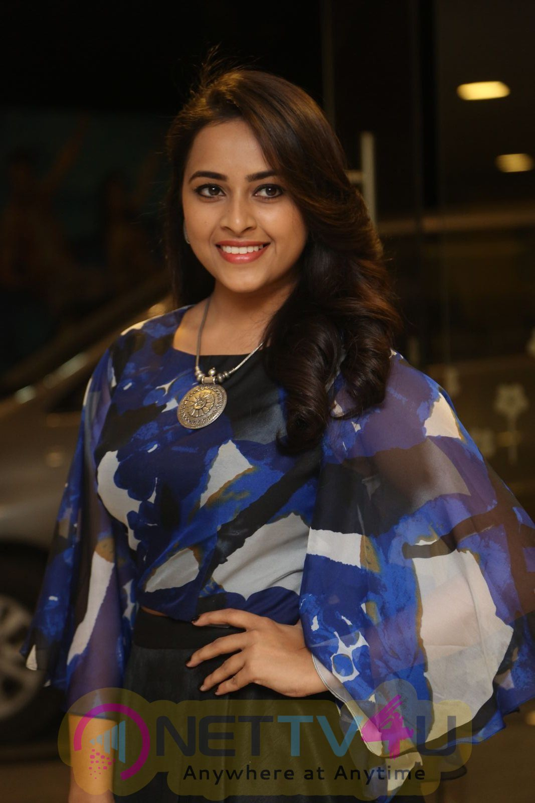 Sri Divya Cute Lovely Stills At Okkadochadu Movie Audio Launch Telugu Gallery