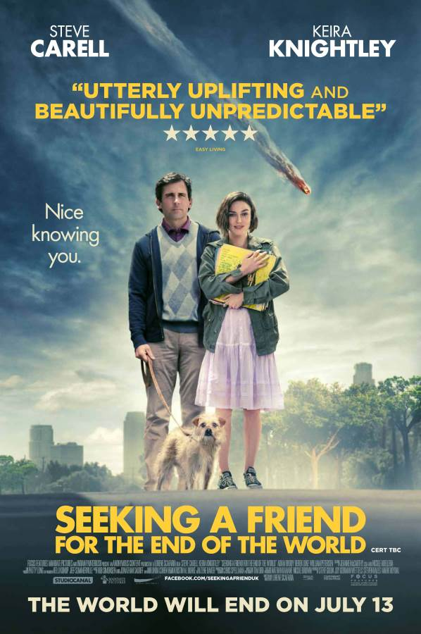 Seeking A Friend For The End Of The World Movie Review