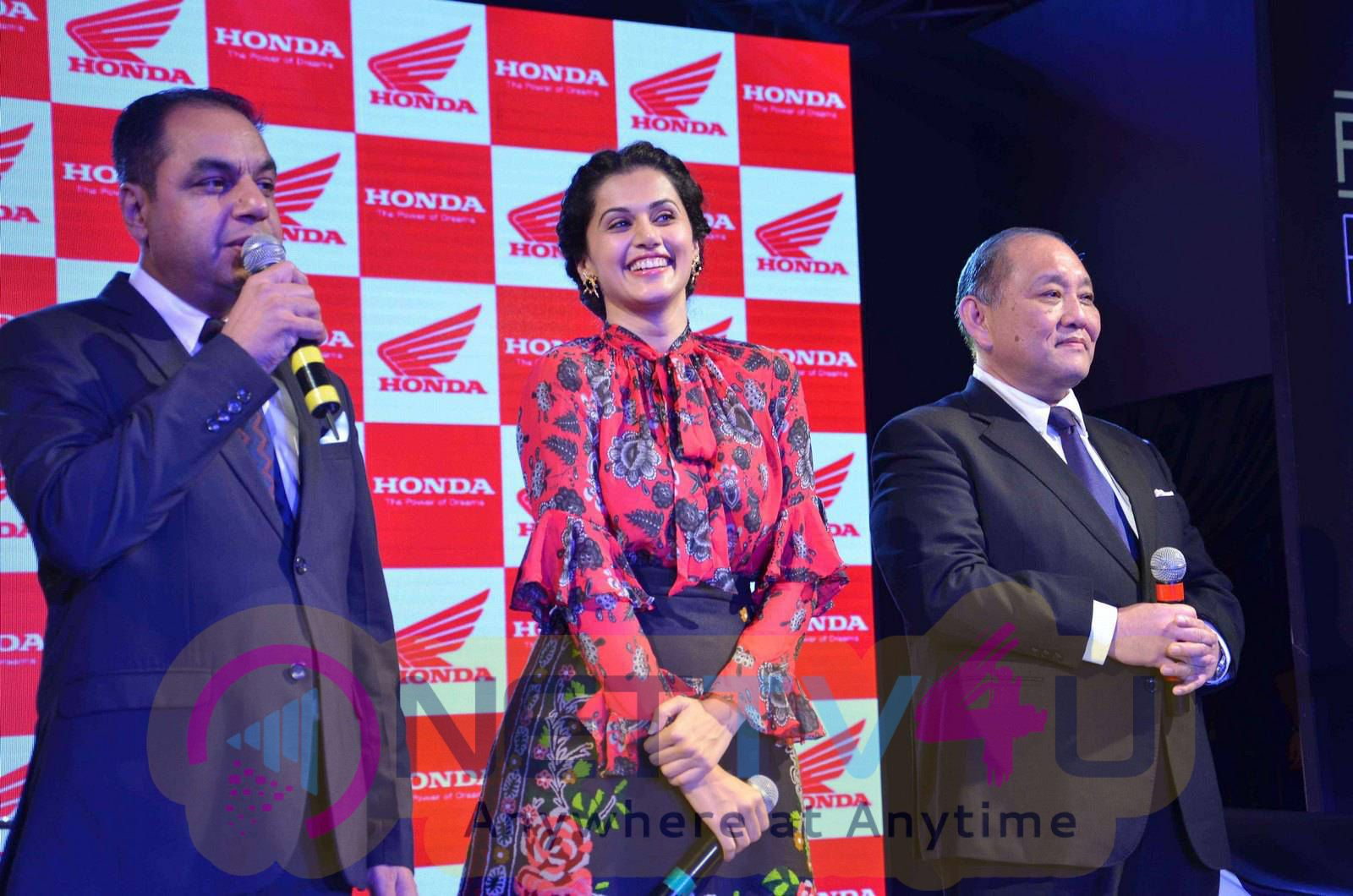 taapsee at activa i and aviator launch photos 16