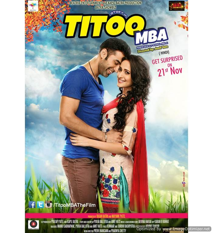 Titoo MBA Movie Review