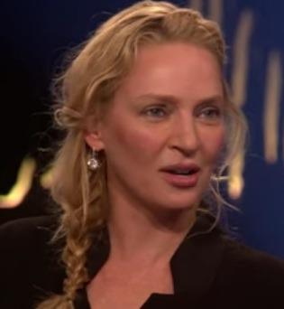Uma Thurman English Actress