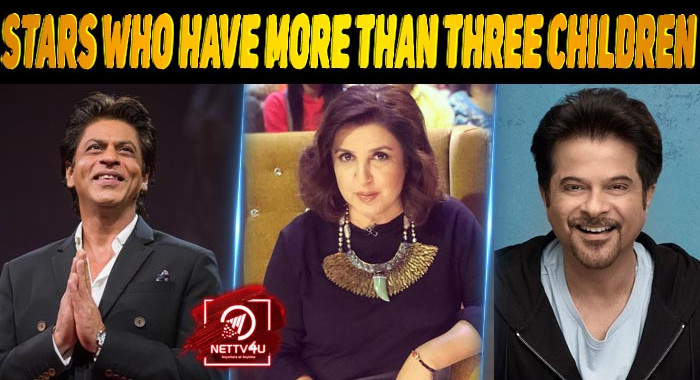 10 Bollywood Stars Who Have More Than Three Children