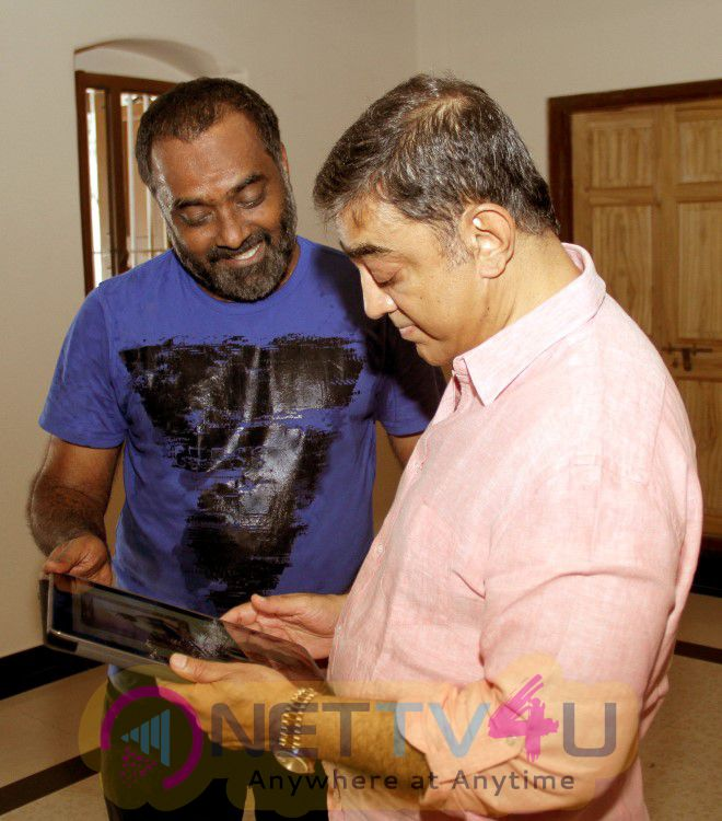 Actor Ulaganayagan Kamal Hasan Introducing The Click Art Museum Logo Stills