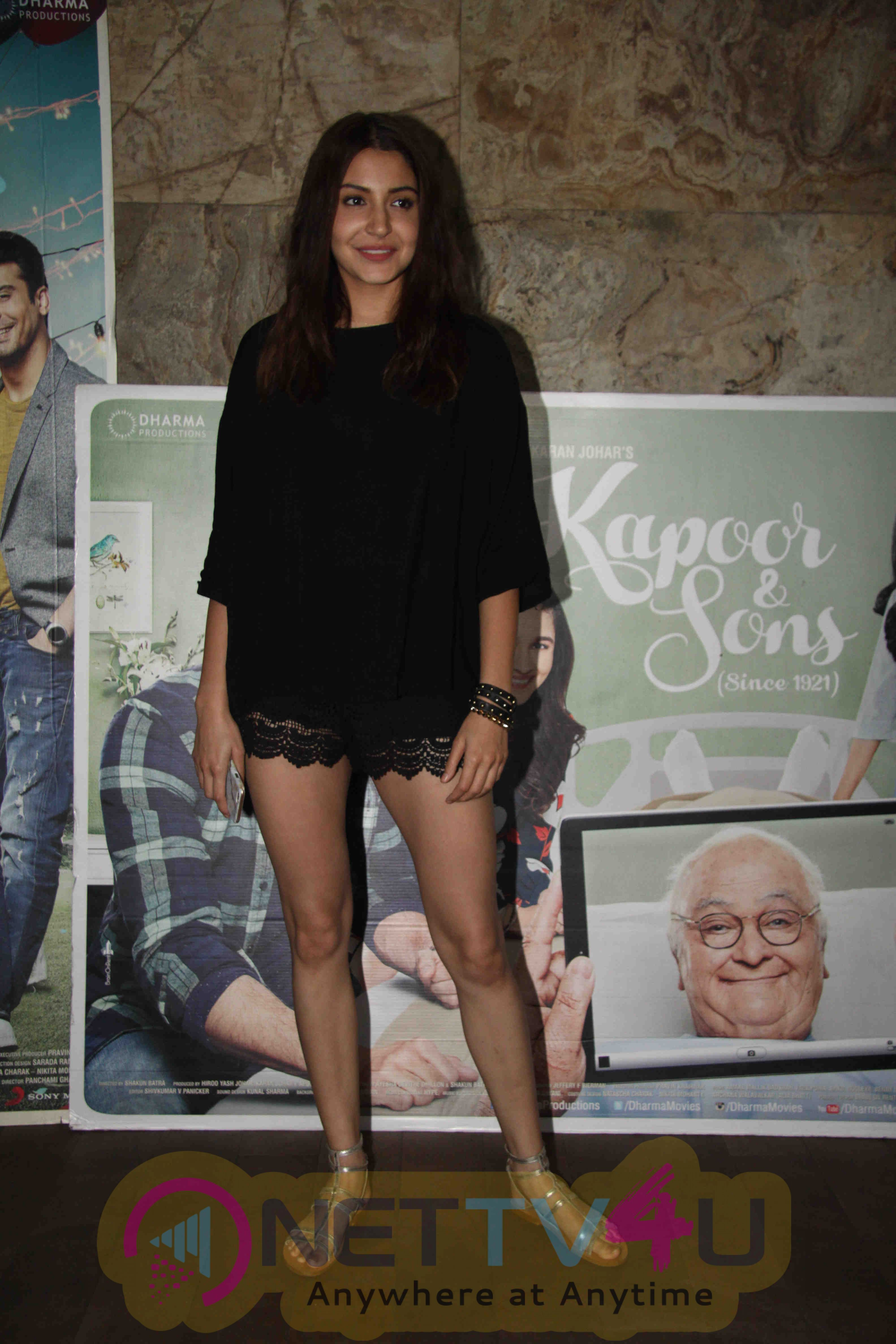 Bollywood Celebs At The Screening Of Film Kapoor And Sons New Exclusive Photos