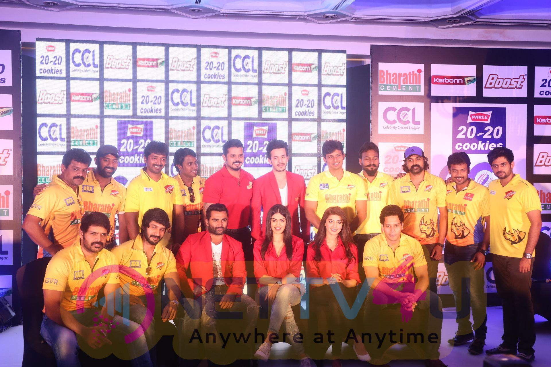 ccl season6 chennai press meet images 4