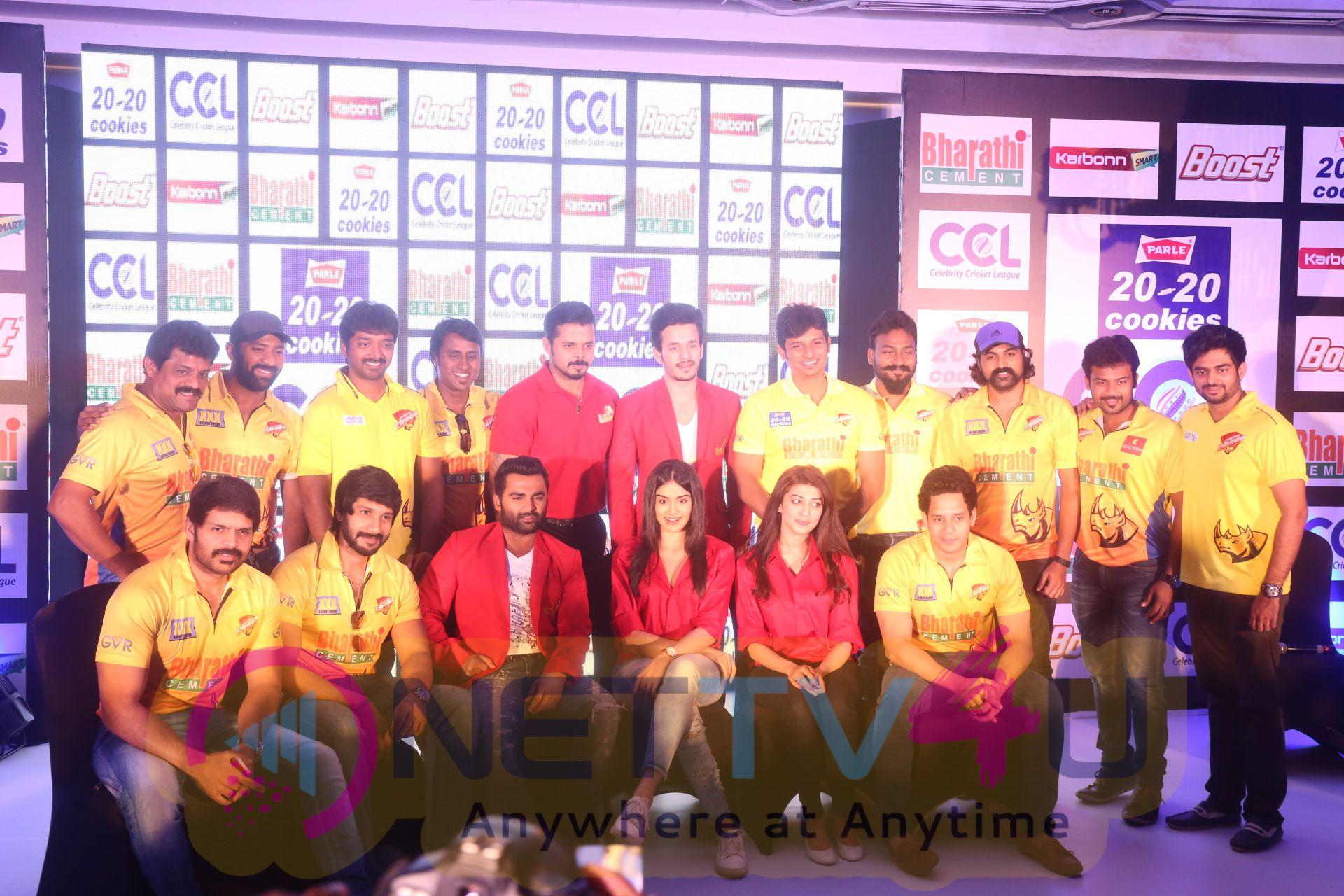 ccl season6 chennai press meet images 5