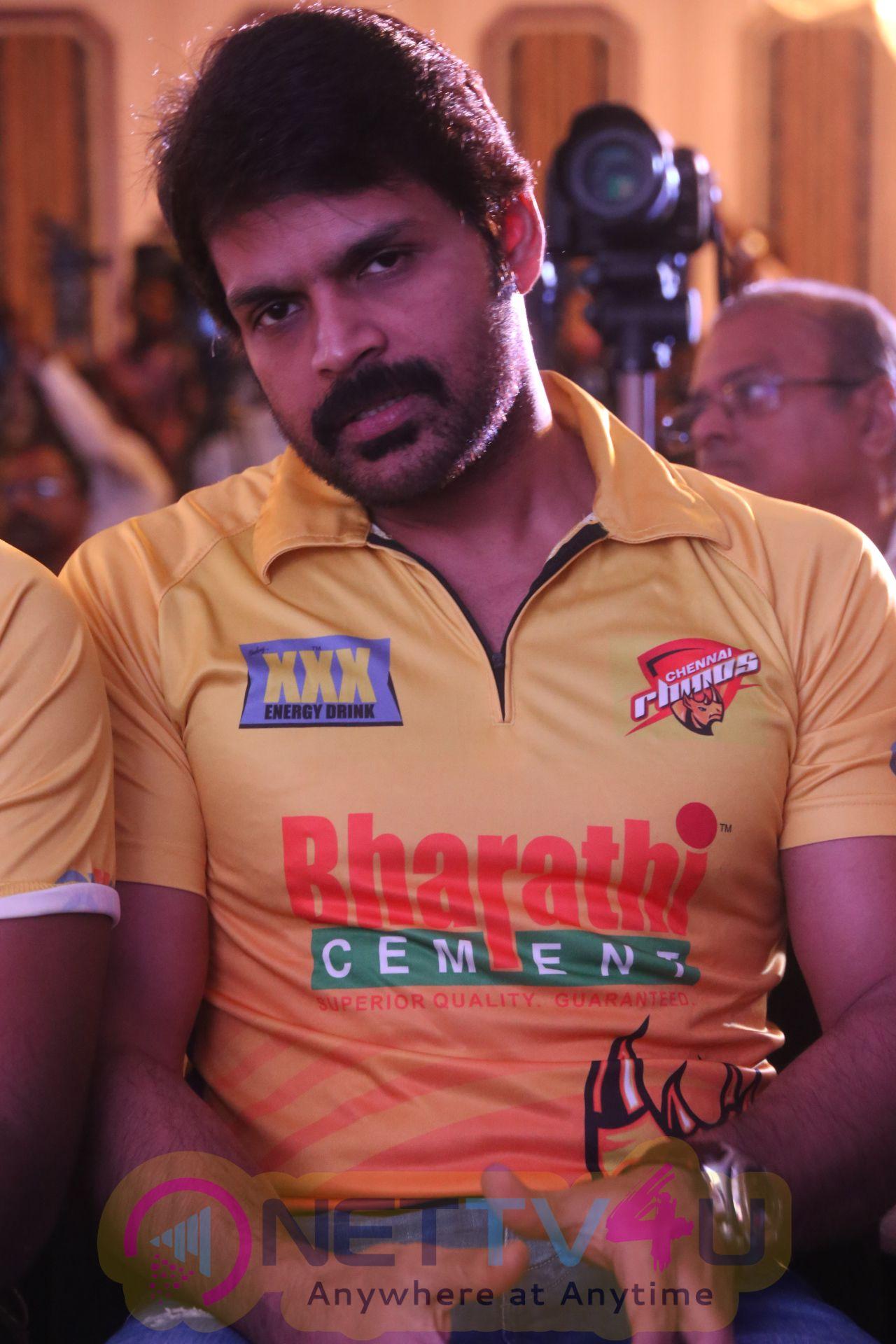 CCL Season6 Chennai Press Meet Images