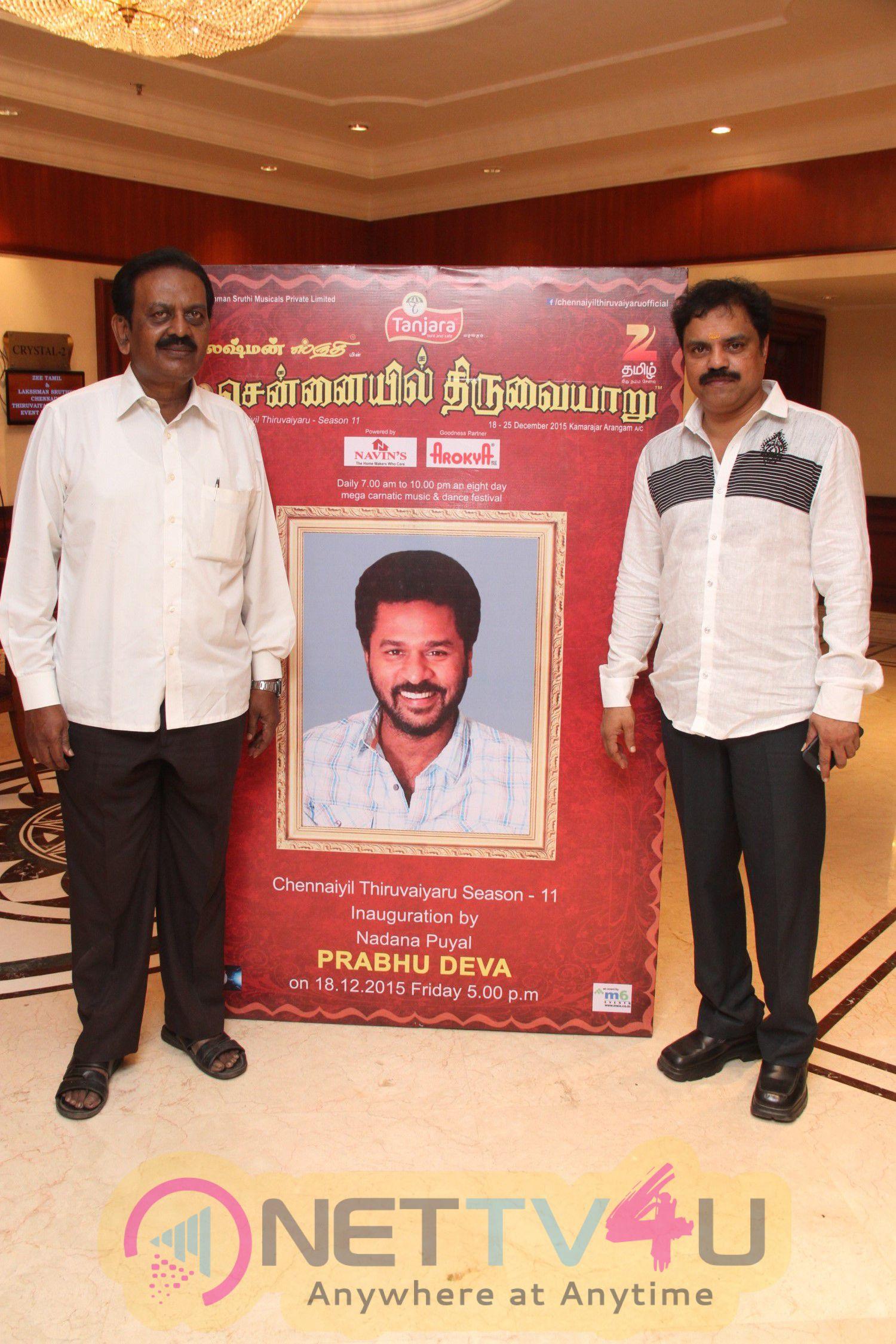 Chennaiyil Thiruvaiyaru Season 11 Press Meet Stills