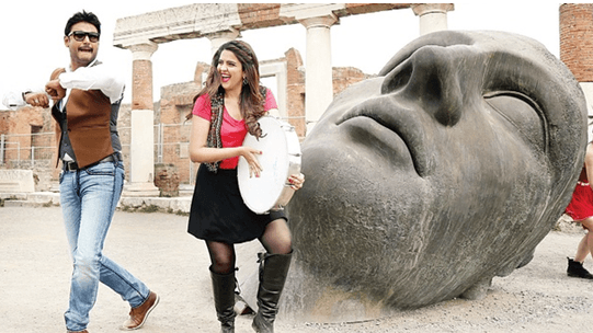 'Jaggu Dada' Shot In Pompeii, Italy