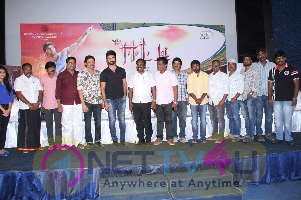 Latest Tamil Movie Etti Press Meet Images