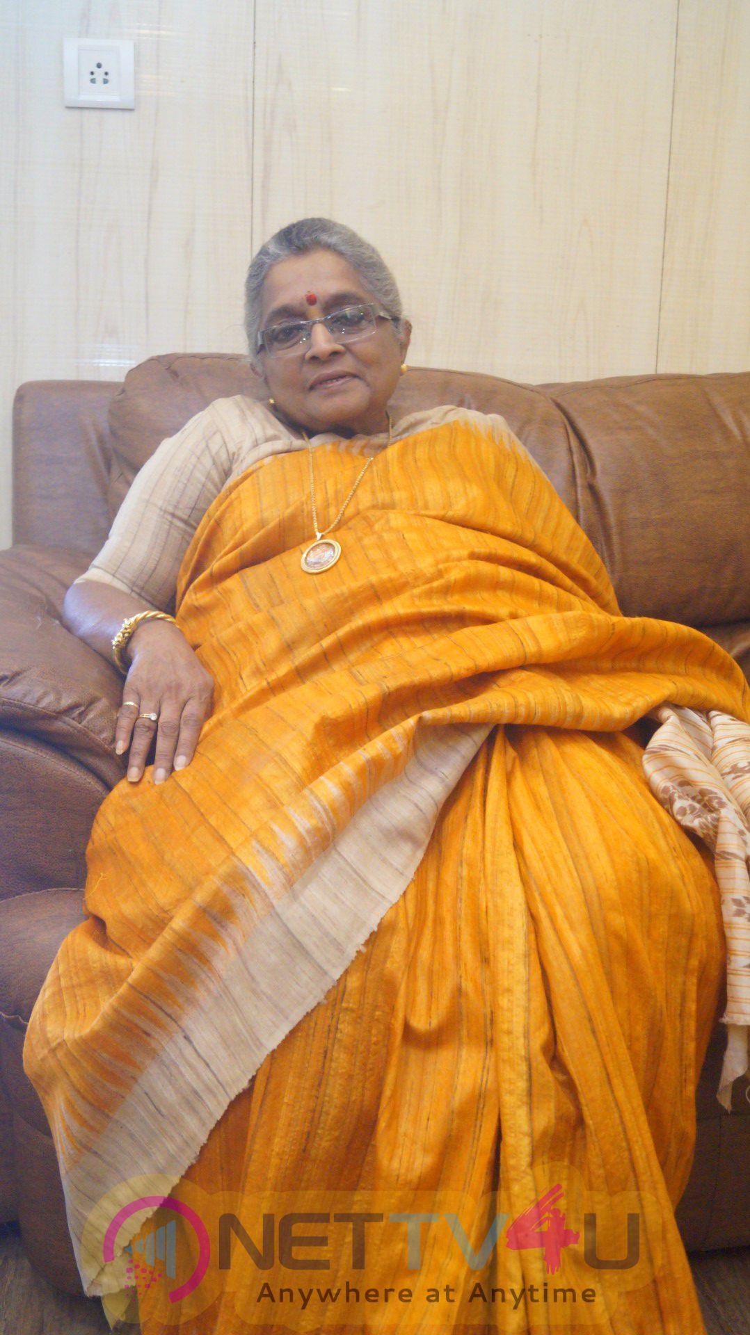 Madhura Pandit Jasraj At The Film's Mahurat Recording Images