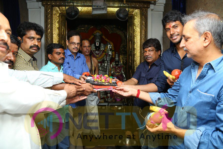 Nakshatram Telugu Movie Opening Stills