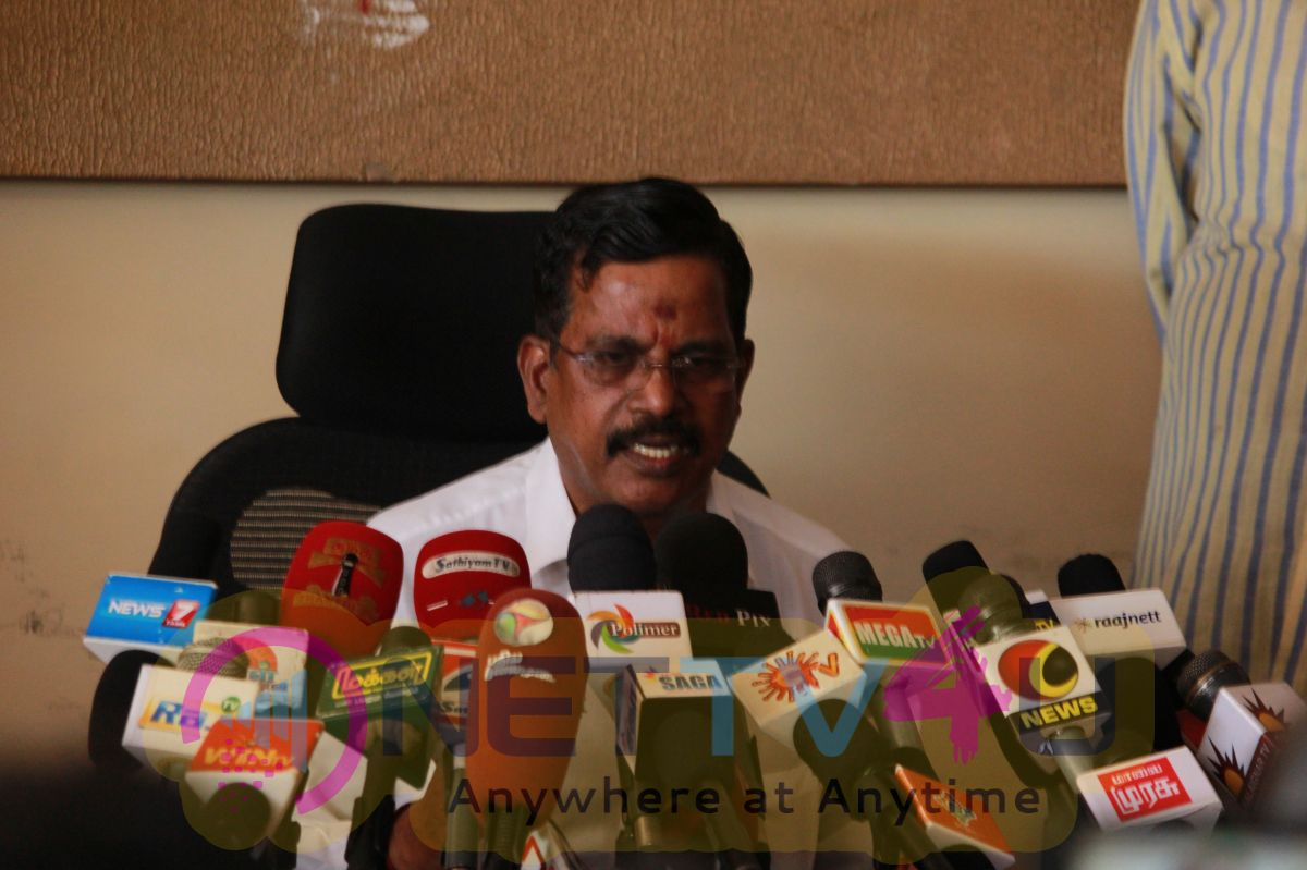 Producer S. Thanu Press Meet Exclusive Photos