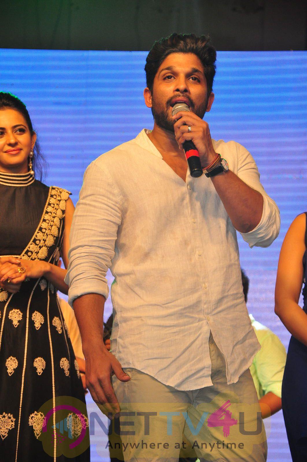 Sarrainodu Telugu Movie Blockbuster Function Excellent Photos
