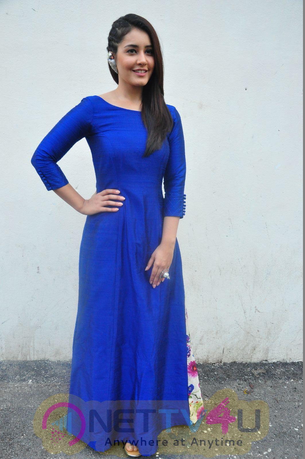 Supreme Success Meet 1 , 2 And Raashi Khanna Photos Telugu Gallery