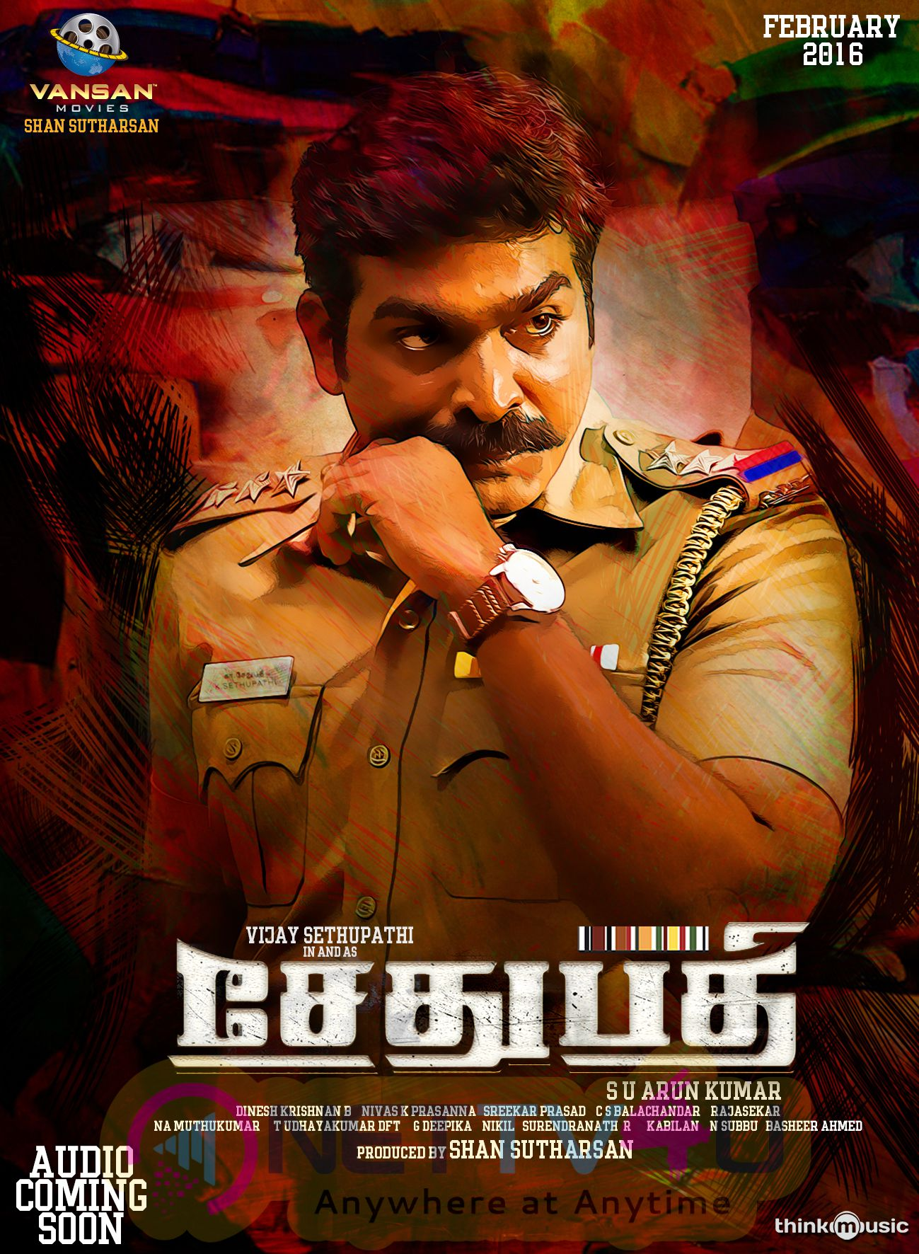 Tamil Movie Sethupathi First Look Poster