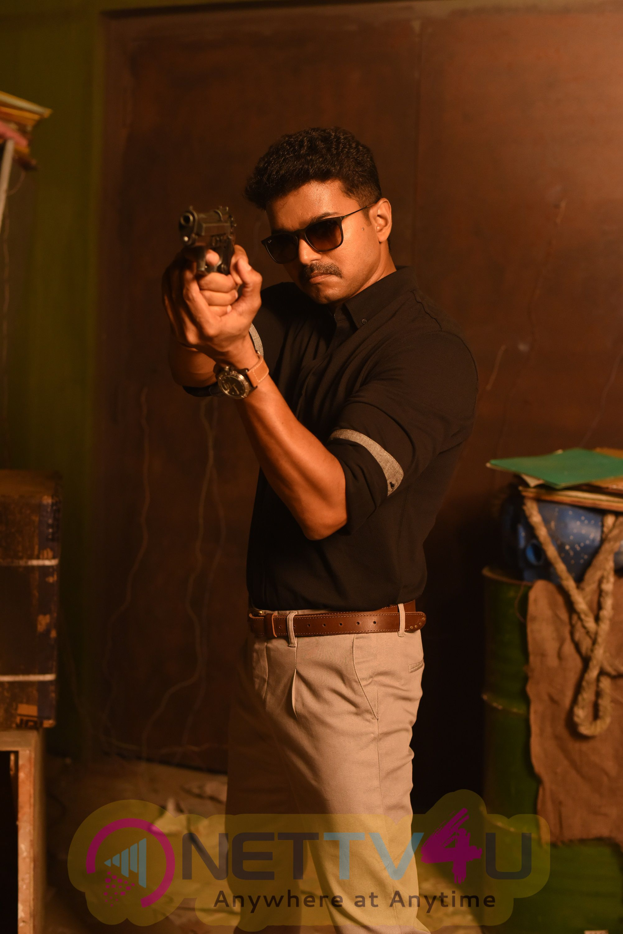 Vijays Policeodu Telugu Movie First Look Stills