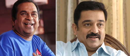 Brahmanandam To Share Screen Space With Kamal Haasan For The First Time