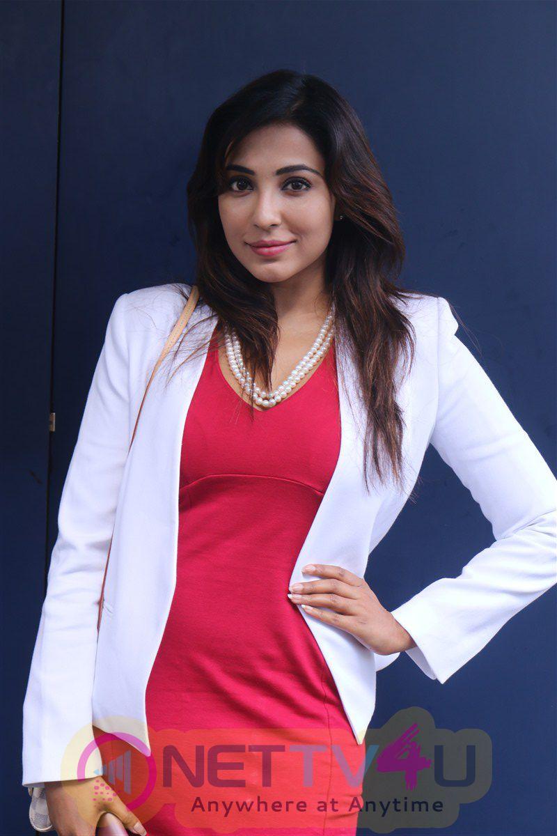 Actress Parvathy Nair Lovely Photos At Iru Mugan Audio Launch