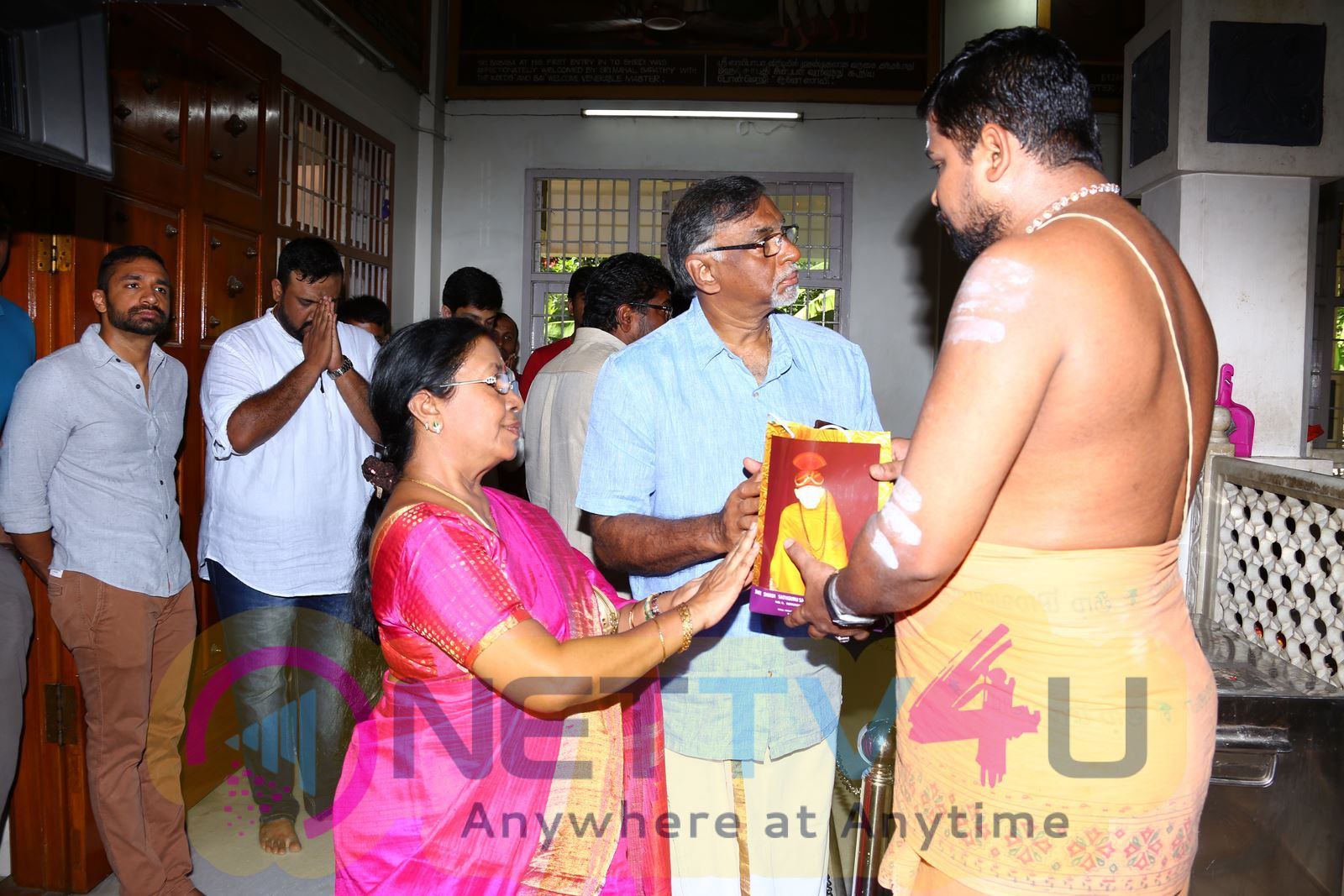 Ajith 57 Tamil Movie Pooja Charming Stills