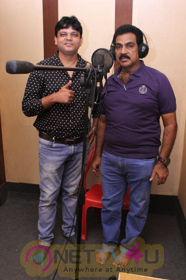 Amaavasai Movie Song Recording Photos