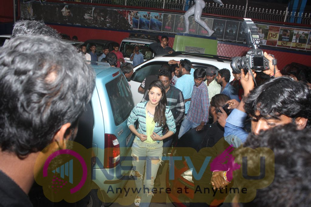 Eedu Gold Ehe Song Launch At Jagadam Theater In Vizag Photos