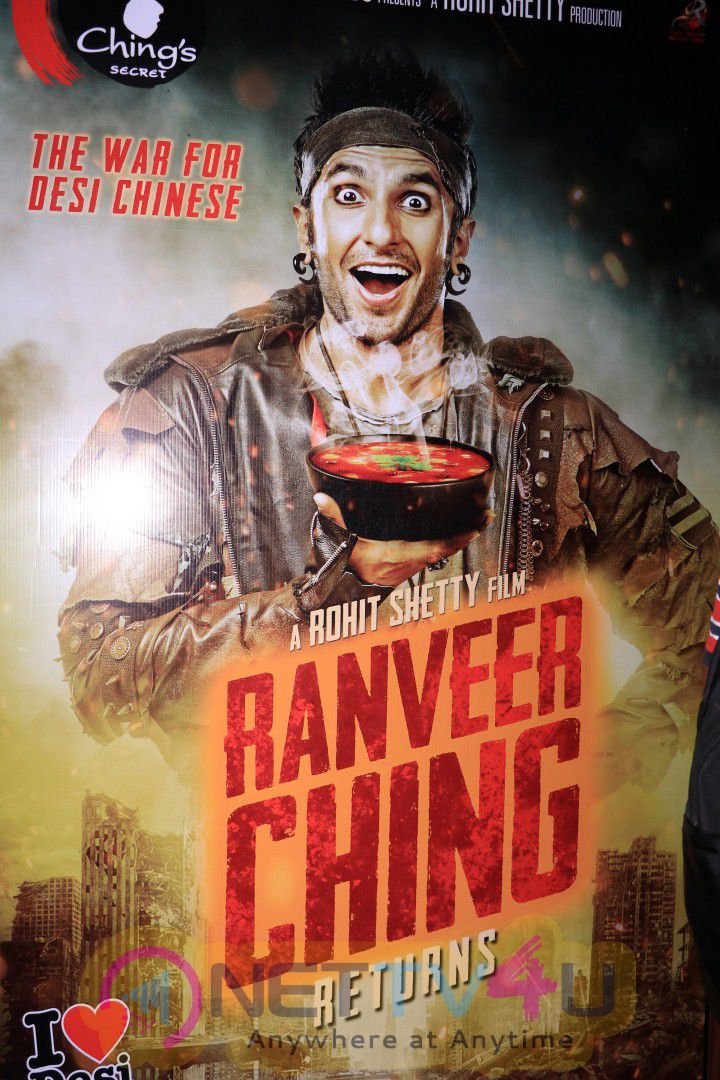 Exclusive World Premier Of Film Ranveer Ching With Ranveer Singh Stills