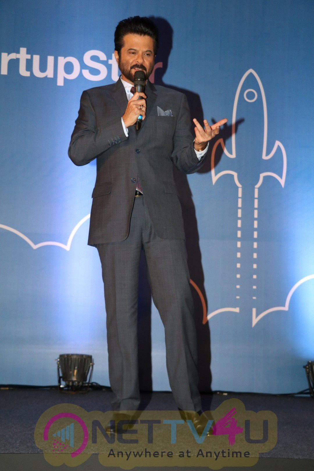 Indi Com Association With IBM Startup Initiative With Anil Kapoor Handsome Photos