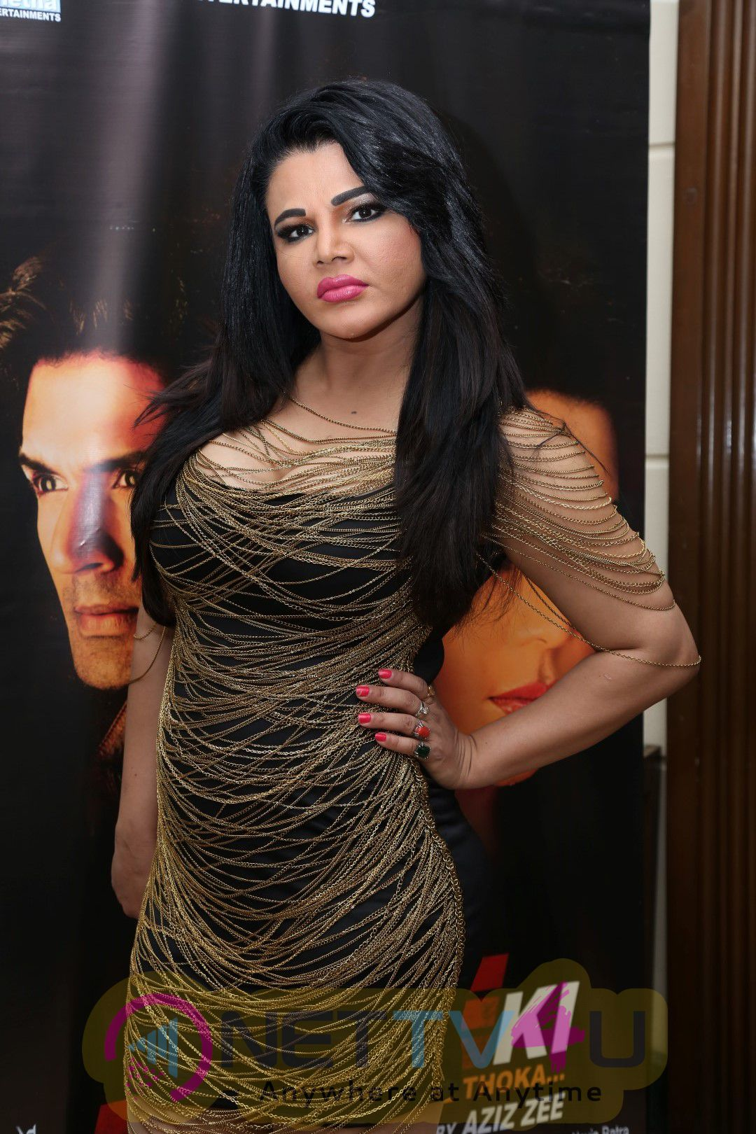PC With Rakhi Sawant & Entire Cast For Upcoming Film Ek Kahani Julie Ki Stills