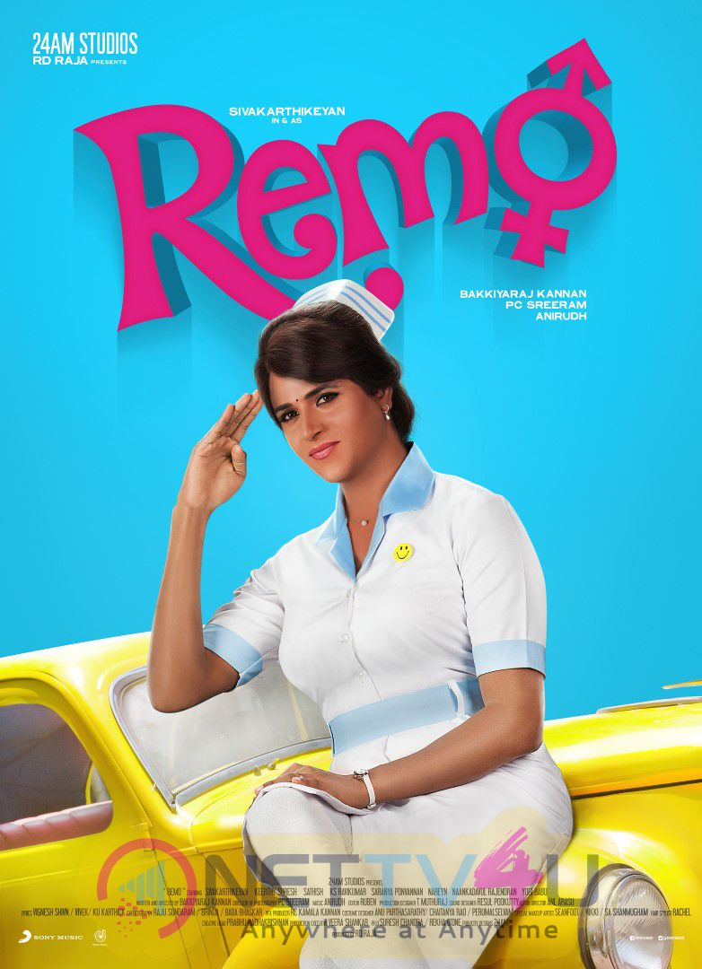 Remo Tamil Movie First Look Lovely Poster