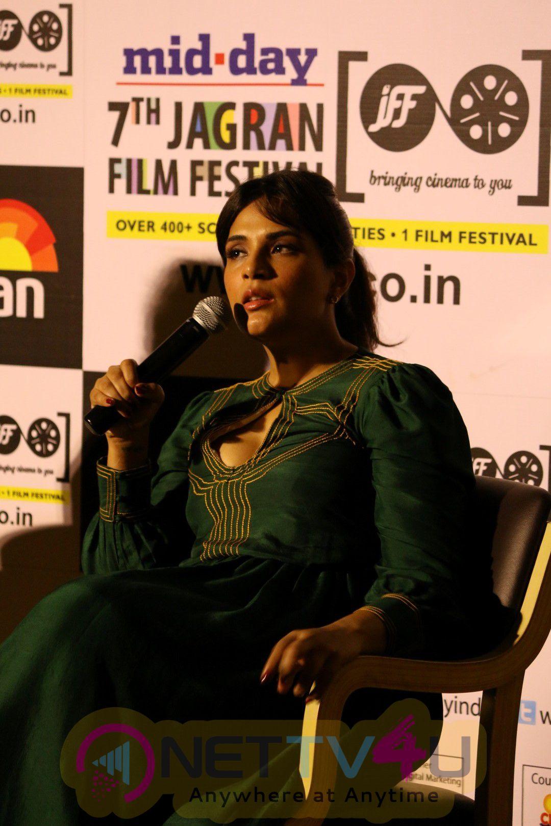 Richa Chadda Visit 7th Jagran Film Festival Stills Hindi Gallery