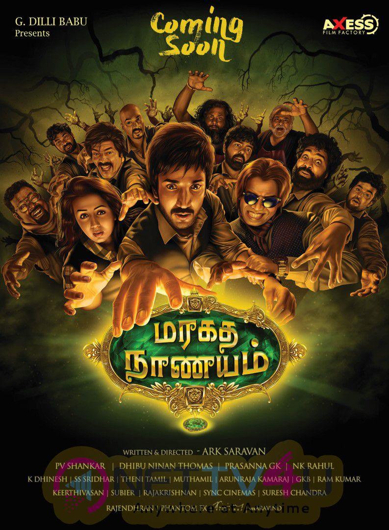 Tamil Movie Maragadha Naanayam Charming Wallpaper