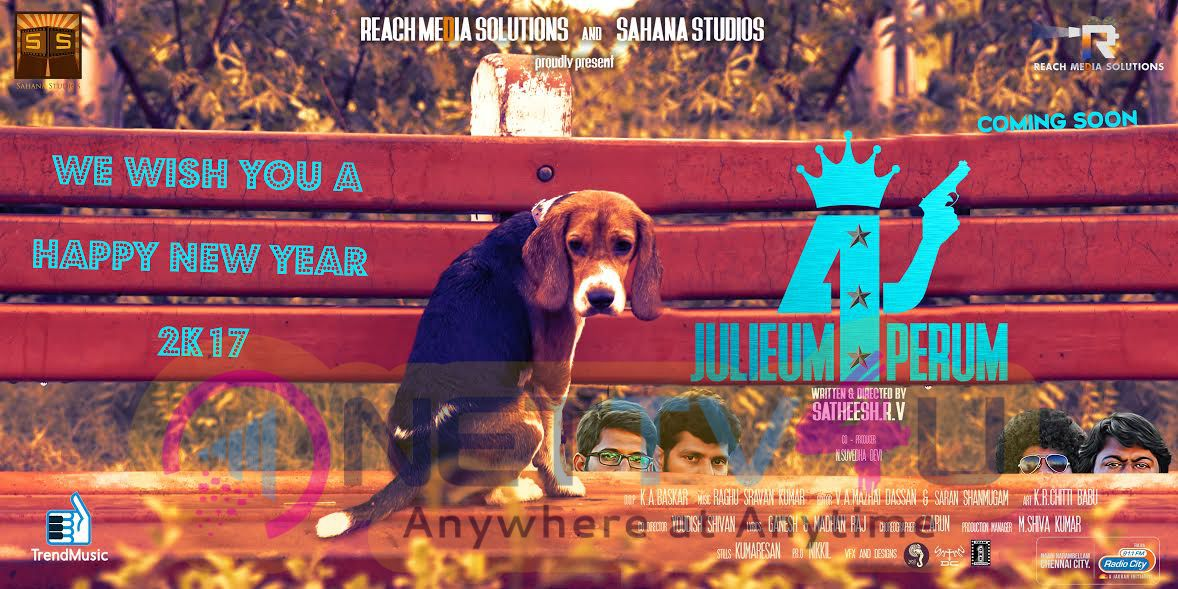 Julieum 4 Perum Movie Wish U Happy New Year Posters