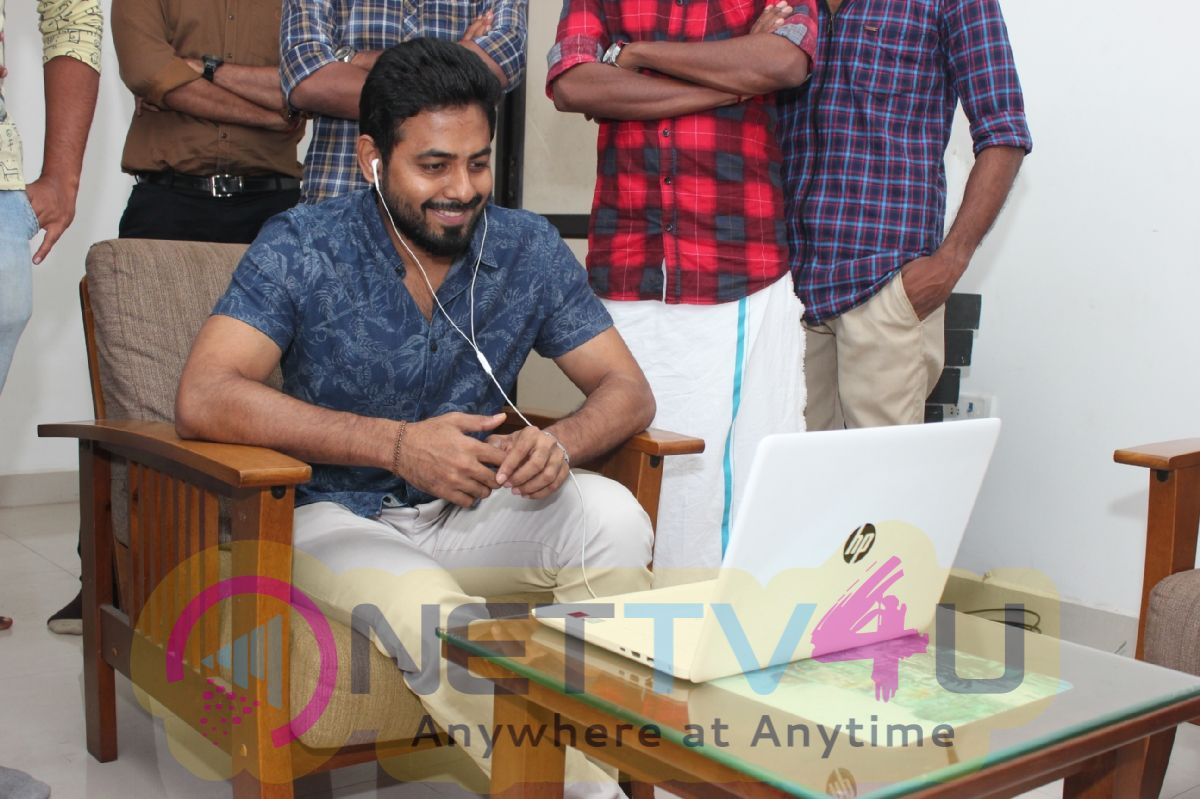 Mun Andhi Pozhuthu Lyrical Video Launch Images Tamil Gallery