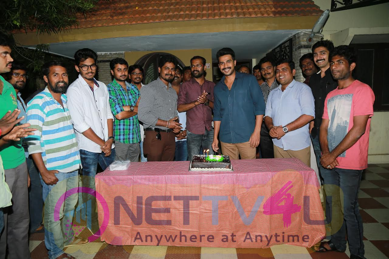 Axess Film Factory Production No.3 Team Celebrated The Birth Of Actor Vishnu Vishal Child