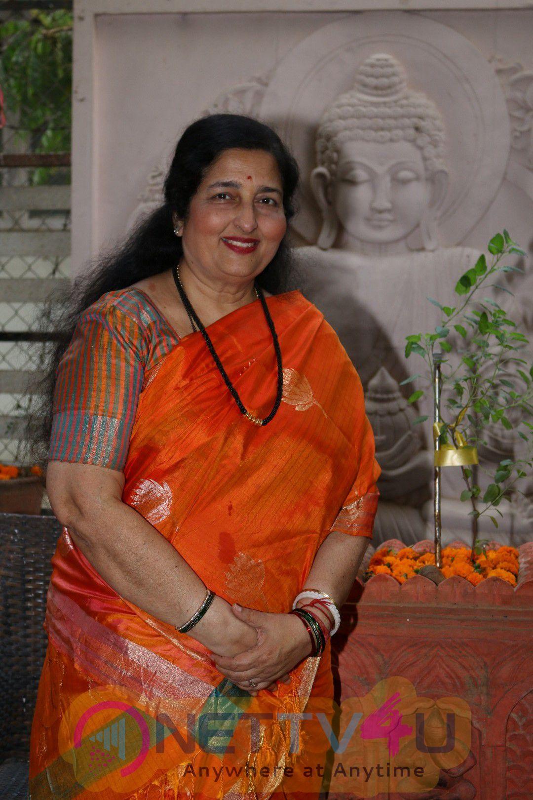 Interview With Singer Anuradha Paudwal For Win Padma Shri Award Photos