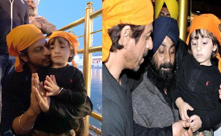 Shah Rukh Visited The Golden Temple With His Yo..